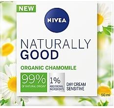 Parfémy, Parfumerie, kosmetika Denní krém pro citlivou pleť - Nivea Naturally Good Day Sensitive Care