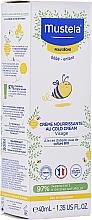 Parfémy, Parfumerie, kosmetika Kold-krém na obličej - Mustela Bebe Nourishing Cream with Cold Cream