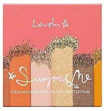 Parfémy, Parfumerie, kosmetika Paleta stínů - Lovely Surprise Me Eyeshadow Palette Peachy Sight Edition