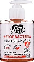Parfémy, Parfumerie, kosmetika Antibakteriální mýdlo na ruce Grapefruit a čajovník - MonoLove Bio Hand Soap With Chlorhexidine