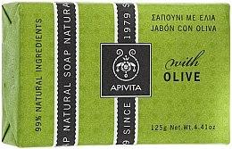 "Parfémy, Parfumerie, kosmetika Mýdlo ""Olivy"" - Apivita Natural Soap with Olive"