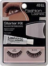 Parfémy, Parfumerie, kosmetika Sada - Ardell Fashion Lashes Starter Kit Demi Black 101