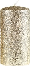 Parfémy, Parfumerie, kosmetika Dekorativní svíčka, zlatá, 7x10cm - Artman Glamour