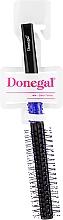 """Parfémy, Parfumerie, kosmetika Kartáč na vlasy """"Antystatic"""", 9019, černo-modrý - Donegal"""