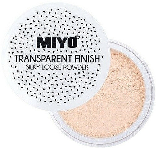 Sypký pudr - Miyo Transparent Finish Powder — foto N2