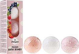 Parfémy, Parfumerie, kosmetika Šumivé koupelové míčky - Delia Dairy Fun Milky Bath Balls