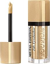 Parfémy, Parfumerie, kosmetika Tekuté oční stíny - Bourjois Metal Edition 24H Eyeshadow