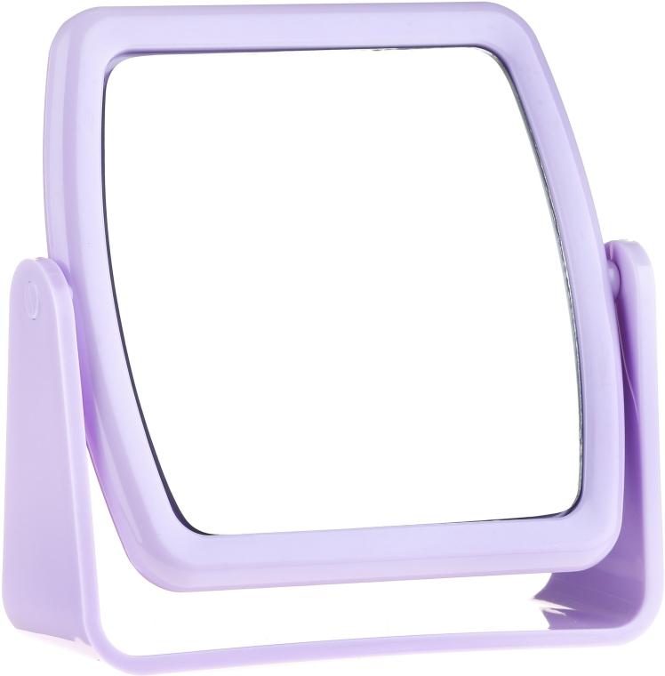 Kosmetické zrcadlo 85727, čtvercové, šeříkové - Top Choice Beauty Collection Mirror