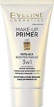 Parfémy, Parfumerie, kosmetika Matující podkladová báze pod make-up - Eveline Cosmetics Make-up Primer 3v1