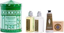 Parfémy, Parfumerie, kosmetika Sada - L'Occitane Verbena My Music Box (sh/gel/75ml + b/milk/75ml + h/cr/30ml + soap/50g)