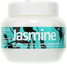 Parfémy, Parfumerie, kosmetika Maska pro poškozené vlasy - Kallos Cosmetics Jasmine Nourishing Hair Mask