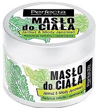 """Parfémy, Parfumerie, kosmetika Máslo na tělo """"Kale a mladý ječmen"""" - Perfecta Kale & Young Barley Body Butter"""