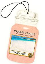 """Parfémy, Parfumerie, kosmetika Vůně """"Růžové písky"""" - Yankee Candle Pink Sands Car Jar Ultimate"""