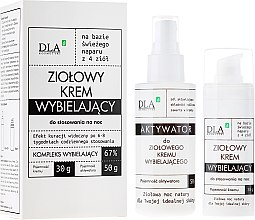 "Parfémy, Parfumerie, kosmetika Sada ""Bělící noční komplex"" - DLA (cr/30g + activ/50g)"