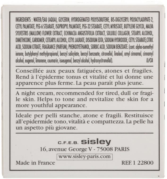 Noční liftingový krém - Sisley Creme Collagene Et Mauve Botanical Night Cream — foto N4