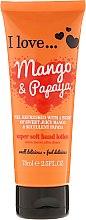 Parfémy, Parfumerie, kosmetika Vyživující krém na ruce s vůní manga a papáji - I Love... Mango & Papaya Super Soft Hand Lotion