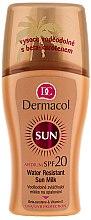 Parfémy, Parfumerie, kosmetika Voděodolné mléko-sprej na opalování - Dermacol Water Resistant Sun Milk SPF 20