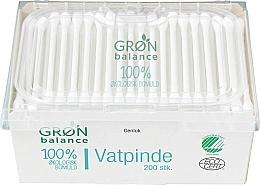 Parfémy, Parfumerie, kosmetika Vatové tyčinky dětské, 200 ks - Gron Balance