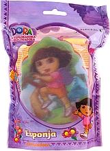 """Parfémy, Parfumerie, kosmetika Dětská houba """"Dora"""", 169-11, žlutá - Suavipiel Dora Bath Sponge"""
