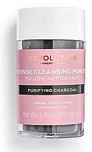 Parfémy, Parfumerie, kosmetika Čisticí pudr na obličej - Revolution Skincare Purifying Charcoal Cleansing Powder