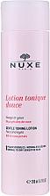 Parfémy, Parfumerie, kosmetika Jemný lotion-tonikum s růžovými lístky - Nuxe Gentle Toning Lotion With Rose Petals