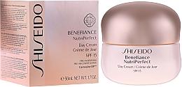 Parfémy, Parfumerie, kosmetika Denní krém - Shiseido Benefiance NutriPerfect Day Cream SPF 15