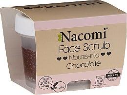Parfémy, Parfumerie, kosmetika Hydratační peeling na obličej a rty - Nacomi Moisturizing Face&Lip Scrub Chocolate