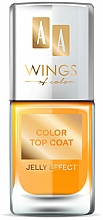 Parfémy, Parfumerie, kosmetika Vrchní lak na nehty - AA Wings of Color Color Top Coat