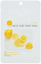 Parfémy, Parfumerie, kosmetika Regenerační pleťová maska s vitamínem B5 - Eunyu Daily Care Sheet Mask Vitamin