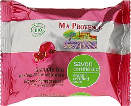 Parfémy, Parfumerie, kosmetika Bio organické mýdlo s vůní granátového jablka - Ma Provence Organic Soap