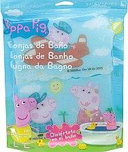 Parfémy, Parfumerie, kosmetika Sada koupelních hub Prasátko Peppa 3ks, Letecký výlet - Suavipiel Peppa Pig Bath Sponge