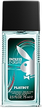 Parfémy, Parfumerie, kosmetika Playboy Endless Night - Tělový sprej