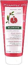 Parfémy, Parfumerie, kosmetika Šampon na vlasy - Klorane Color Enhancing Anti-Fade Shampoo With Pomegranate