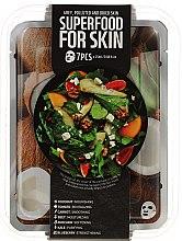 Parfémy, Parfumerie, kosmetika Sada - Superfood Salad For Skin Grey Polluted And Dried Skin (mask/7x25ml)