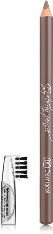 Měkká tužka na obočí - Dermacol Eyebrow Pencil