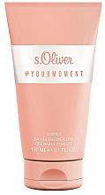 Parfémy, Parfumerie, kosmetika S.Oliver #Your Moment Women - Sprchový gel