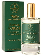 Parfémy, Parfumerie, kosmetika Taylor of Old Bond Street Royal Forest Aftershave Lotion - Lotion po holení
