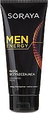 Parfémy, Parfumerie, kosmetika Čistící pasta na obličej - Soraya Men Energy