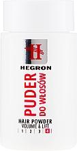 Parfémy, Parfumerie, kosmetika Pudr pro objem vlasů - Hegron Hair Powder Volume&Lift