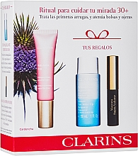 Parfémy, Parfumerie, kosmetika Sada - Clarins Multi Active Yeux Set (eye/cr/15ml + makeup/remover/30ml + mascara/3.5ml)