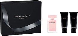 Parfémy, Parfumerie, kosmetika Narciso Rodriguez For Her - Sada (edp/50ml + b/lot/75ml + sh/gel 75ml)