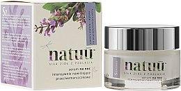 Parfémy, Parfumerie, kosmetika Noční sérum na obličej s extraktem šalveje - Natuu Smooth & Lift Night Face Serum
