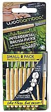 Parfémy, Parfumerie, kosmetika Sada mezizubních kartáčků, 12 ks - Woobamboo Toothbrush Interdental Brush Picks Small