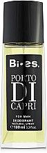 Parfémy, Parfumerie, kosmetika Bi-Es Porto Di Capri - Parfémovaný deodorant-sprej