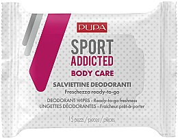 Parfémy, Parfumerie, kosmetika Vlhčené ubrousky na tělo - Pupa Sport Addicted Wipers