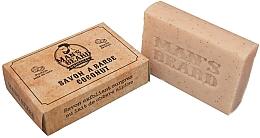 Parfémy, Parfumerie, kosmetika Kokosové exfoliační mýdlo na vousy - Man's Beard Savon Exfoliant Coconut Soap
