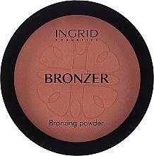 Parfémy, Parfumerie, kosmetika Bronzující pudr - Ingrid Cosmetics HD Beauty Innovation Bronzing Powder