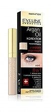 Parfémy, Parfumerie, kosmetika Korektor na oči s arganovým olejem 8v1 - Eveline Cosmetics Argan Oil