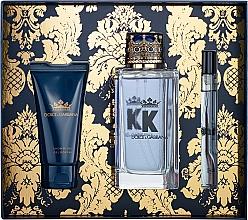 Parfémy, Parfumerie, kosmetika Dolce&Gabbana K by Dolce&Gabbana - Sada (edt/100ml + sh/gel/50ml + edt/mini/10ml)