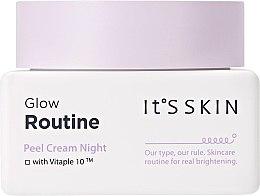 Parfémy, Parfumerie, kosmetika Noční krém na obličej - It's Skin Glow Routine Peel Cream Night